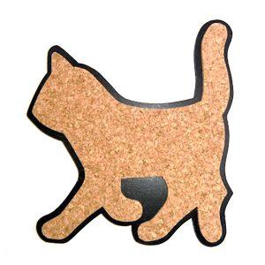 Korkunderlägg katt