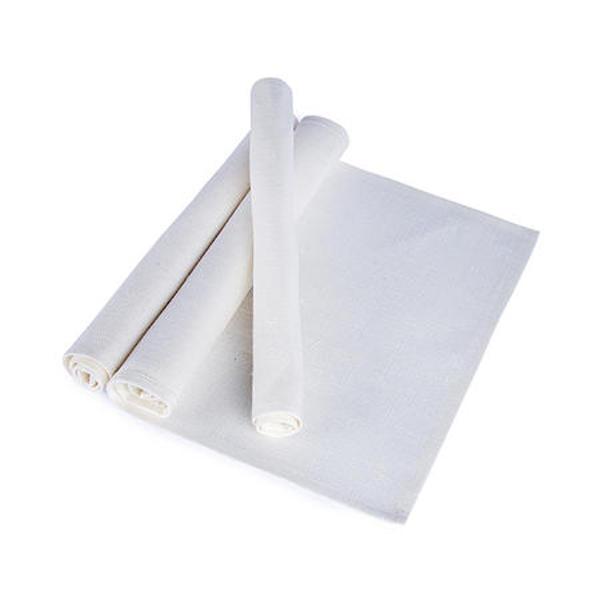 Borstablett säckväv, vit