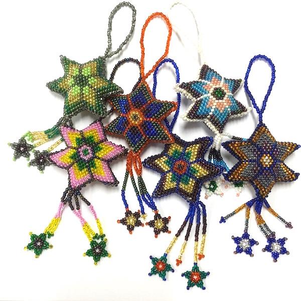 Dekorationer Pärlad Stjärna, Kulör