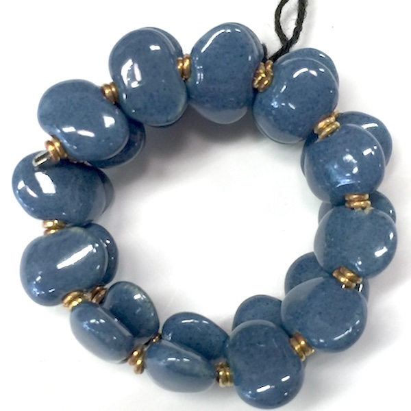 Kazuri Bracelets Flat - South Pacific