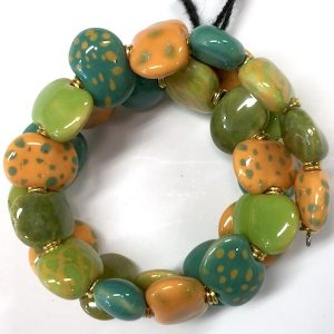 Kazuri Bracelets Flat - Sprite