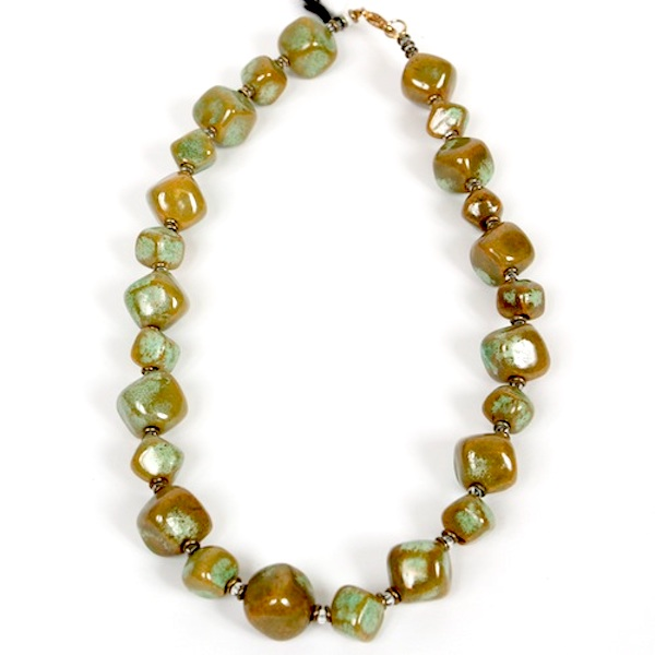 Kazuri Cadeaux - Cirrus Green